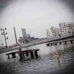 En cykel- og gangbro, der forbinder Amager og Sjælland